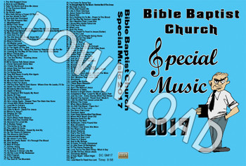 2017 Bible Baptist Church Special Music - Downloadable MP3