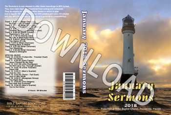 January 2018 Sermons - Downloadable MP3