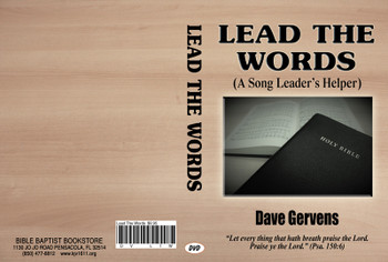 Lead the Words (A Song Leader's Helper) - DVD