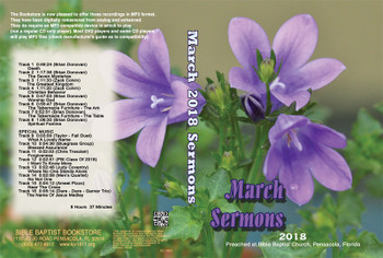 March 2018 Sermons - MP3