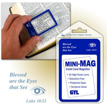 Mini-Mag Credit Card Magnifier