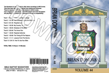 Brian Donovan: Sermons, Volume 44 - Downloadable MP3