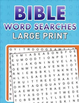 Bible Word Searches Large Print