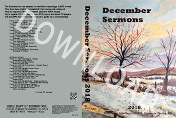 December 2018 Sermons - Downloadable MP3