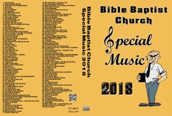 2018 Bible Baptist Church Special Music MP3