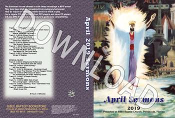 April 2019 Sermons - Downloadable MP3