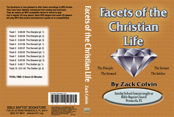 Zack Colvin: Facets of the Christian Life on MP3
