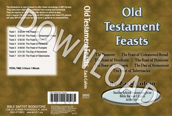Zack Colvin: Old Testament Feasts - Downloadable MP3