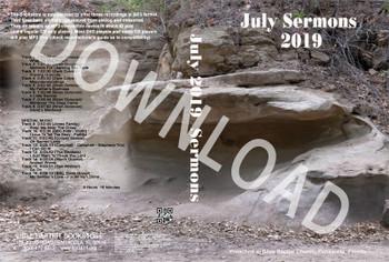 July 2019 Sermons - Downloadable MP3