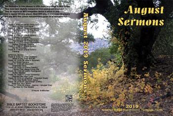 August  2019 Sermons - MP3
