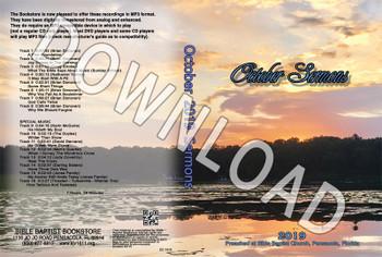 October 2019 Sermons - Downloadable MP3
