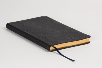 Allan: Journal Black Highland Goatskin - Black