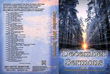 December  2019 Sermons - MP3