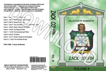 Zack Colvin: Sermons, Volume 9 - Downloadable MP3
