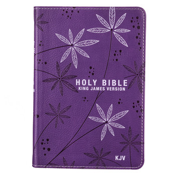 Christian Art Publishers:  Purple Faux Leather Compact Bible