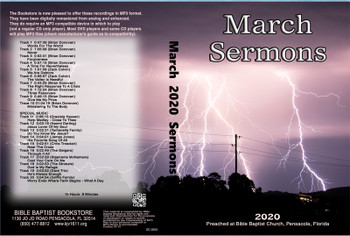 March  2020 Sermons - MP3