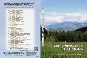 September  2020 Sermons - MP3