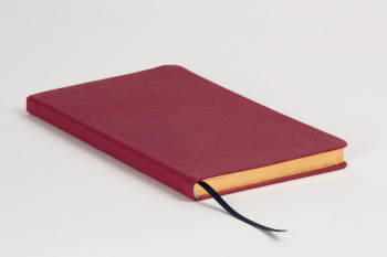 Allan: Journal Highland Goatskin - Red