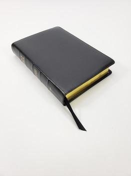 Church Bible Publishers:  Midsize Interleaved Corporate Series Bible - Black