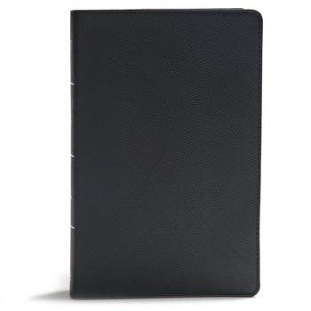 Broadman & Holman Bible: Giant Print Reference Bible Genuine Leather - Black