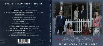 The Duty Family: Home Away From Home - CD