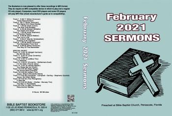 February  2021 Sermons - MP3