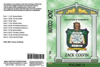 Zack Colvin Sermons on MP3 - Volume 11