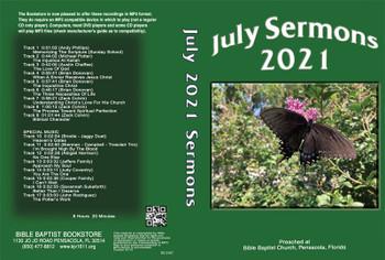 July 2021 Sermons - MP3