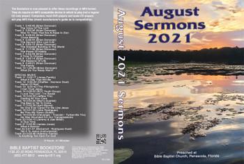 August 2021 Sermons - MP3