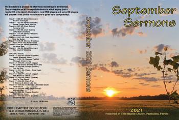 September 2021 Sermons - MP3