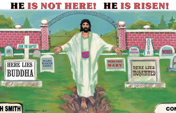 He Is Not Here, He is Risen! - Magnet