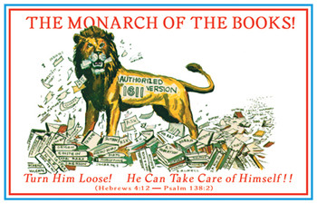 The Monarch of the Books - Magnet