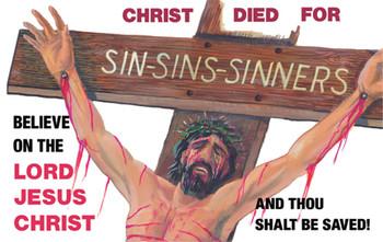 Sin, Sins, Sinners - Magnet