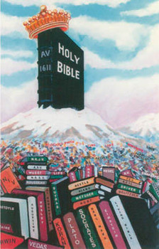 Bible Mountain - Postcard