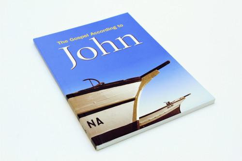 Keystone Bibles: The Gospel According to John - Large Print