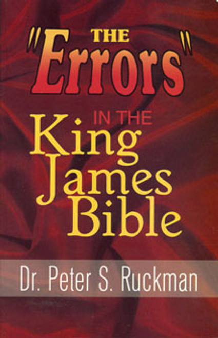 """The """"Errors"""" in the King James Bible"""