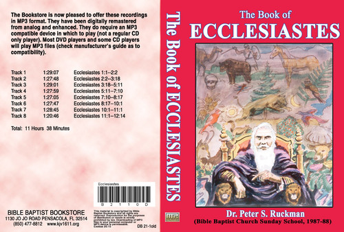 Ecclesiastes (1987) - MP3