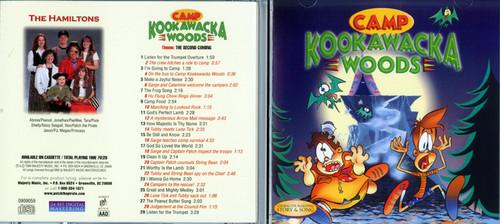 Camp Kookawacka Woods - Patch The Pirate CD