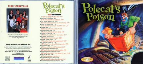 Polecat's Poison - Patch The Pirate CD