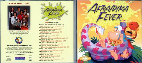Afraidika Fever - Patch The Pirate CD