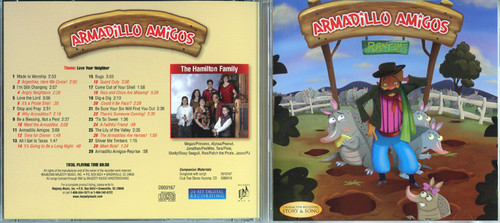 Armadillo Amigos - Patch the Pirate CD
