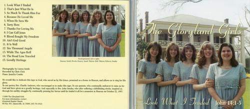 Look What I Traded - Gloryland Girls CD