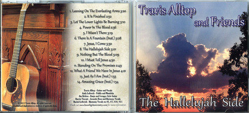 The Hallelujah Side - Travis Alltop CD