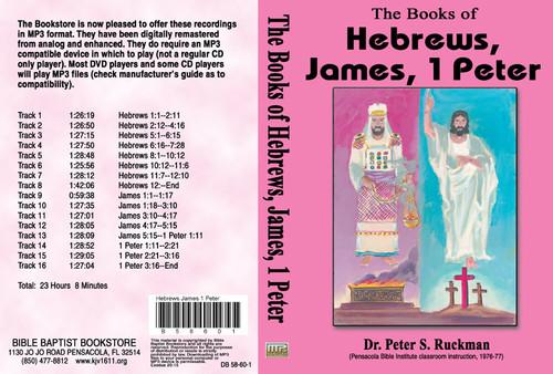 Hebrews, James, 1 Peter - MP3