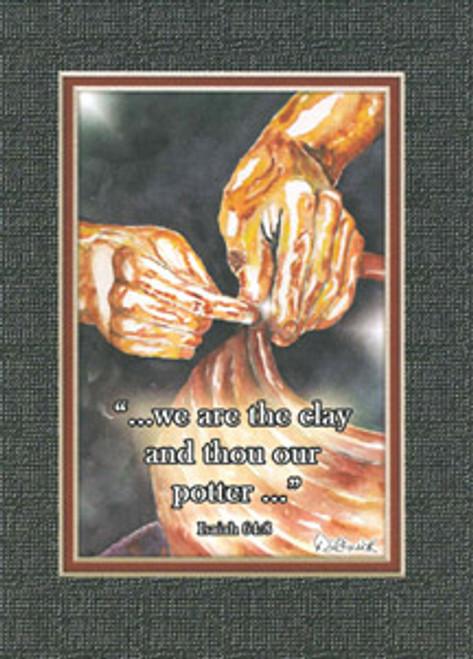 KJV Scripture Blank Greeting Card - The Potter