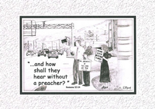 KJV Scripture Encouragement  Card - Street Preach