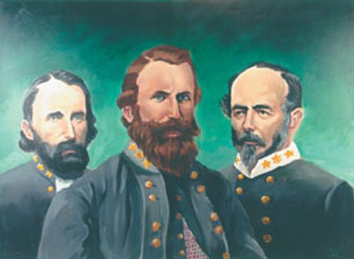Generals of the CSA - Generals Hill, Stuart, Johnston