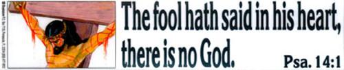 The Fool Hath Said - Sticker