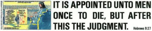 It Is Appointed Unto Men - Sticker