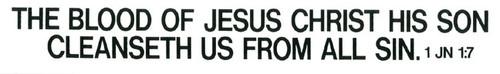 The Blood of Jesus Christ - Sticker